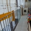 Balkong med verktøy