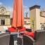 Chaises de terrasse et parasol