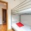 Chambre à deux lits avec lits superposés