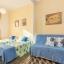 バルセロナでのダブルのソファベッド付けツイン寝室