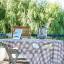 La table de la terrasse
