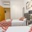 Chambre à deux lits - chambres climatisées