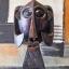 Afrikai ihletésű dekorációval