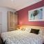 Спальня с двумя двуспальными кроватями