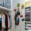 Stor garderobe