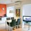 Öffnen-Konzept-Wohnung