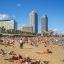 Barceloneta strand - dicht bij het appartement