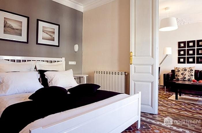 Mester hálószoba és nappali
