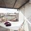 Terrasse med hængekøje