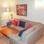 Le canapé du salon