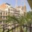 Sagrada Familia je vidět z bytu