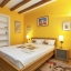 Tredje sovrum med dubbelsäng