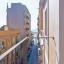 Mały balkon z widokiem na Morze Śródziemne
