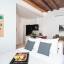 Moderno apartamento de estúdio aberto-conceito