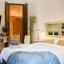Lussuosa camera da letto moderna