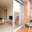 Terraço e sala de estar