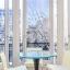 Tabelle und Außenansicht