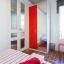Jól megvilágított hálószoba