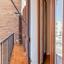 Balcon orientat spre interior