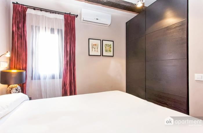 Vzduch-kondicionovaným spálňa
