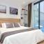 Διπλή κρεβατοκάμαρα με μπαλκόνι πρόσβαση