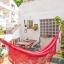 Terrasse avec hamac