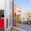 Obývacia izba a balkón