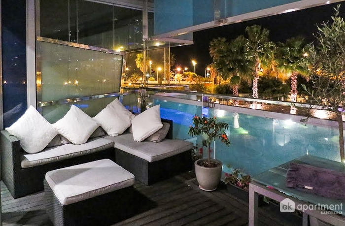 Apartment diagonal luxe beach for Pool familia nuovo de luxe