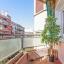 Täckta balkong terrass