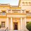 A Villa homlokzata