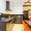 Välutrustat modernt kök