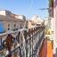 Calle con vistas al balcón