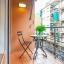 Балкон со столом
