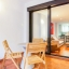 Terasa a obývacia izba