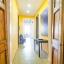 Apartamento com características modernistas (telhas de assoalho)