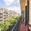 Balkón a modernistické budov