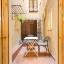 Intimní terasa, ideální pro stolování