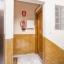 De ingang van het appartement