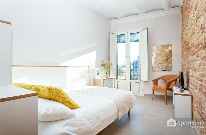 Zona de dormitorio del estudio