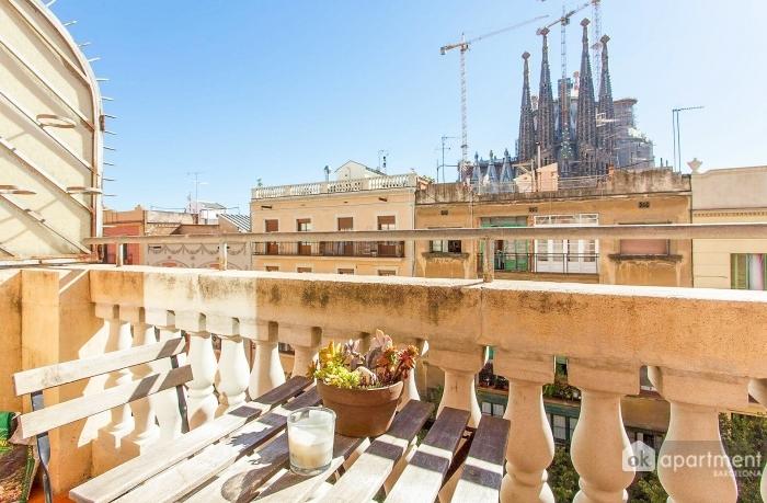 Views of the Sagrada Familia