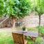 Möblierten Garten