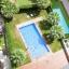 Vista piscina da Appartamento