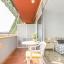 Sypialnia z tarasem balkonem dostępu