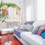 Canapé de salon cosy