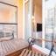 Møblert balkong