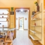 Slaapkamer en leefruimte