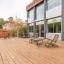 Terrassa ideal per a clients d'allotjament o relaxant