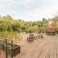 Riesige Terrasse deck
