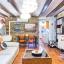 Eclectische en rustieke appartement