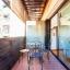 Bútorozott erkéllyel